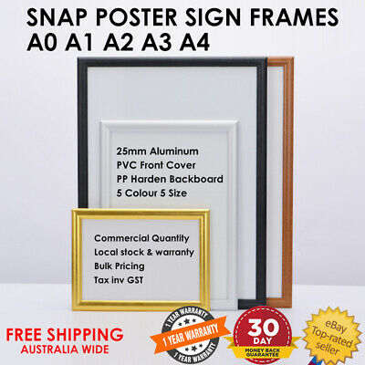 Snap Poster Frames Aluminum Sign Holder Picture Frame A0 A1 A2 A3 A4 Retail Shop