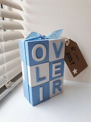 Personalised wooden name blocks❤❤price per letter.