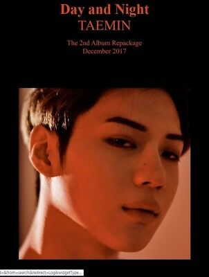 K-POP TAEMIN SHINEE 2nd Repackage Album [MOVE-ing] CD+Photobook+Photocard Sealed