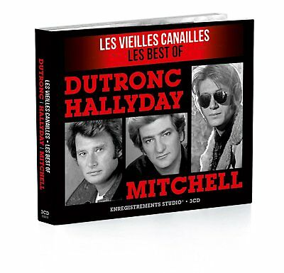 Vieilles canailles Coffret Digipack Johnny / EDDY / JACQUES - CD Audio NEUF