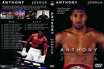 Anthony Joshua - Boxing -  Fight Collection - DVD Set