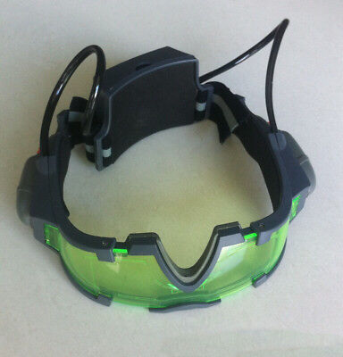 Adjustable LED Night Vision Glass Goggles with Filp-out Light Windproof For Kid