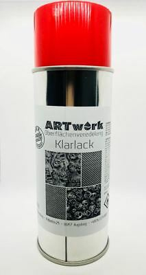 ❌ Wassertransferdruck Klarlack Glanz 400ml Spraydose WTD Hydrographic ❌