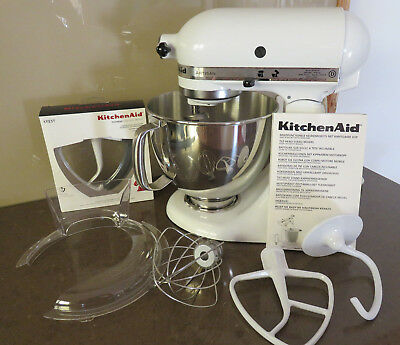 White Kitchen Aid Mixer - Excellent/like New Cond - P/up Wantirna, 3152
