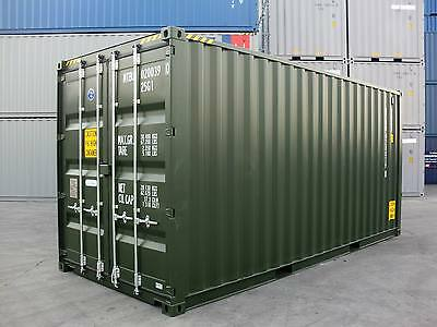 Shipping Containers 20 Foots High Cubes 2017 - Manchester Depot Just Arrived