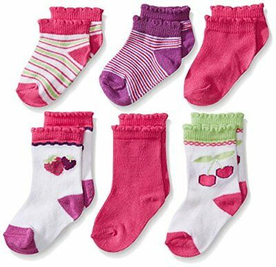 Fruit of the Loom (Renfro) Childrens Apparel Baby Girls 6 Pack- Pick SZ/Color.