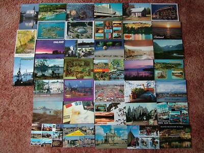 38 Unused Postcards of FINLAND.  Good - Very good condition