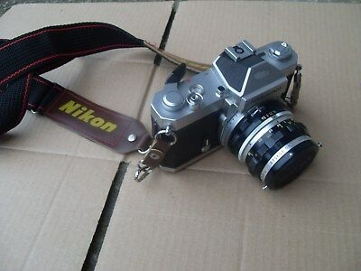Vintage Nikkormat Nikon FT2 Camera - Made In Japan - As Photo's