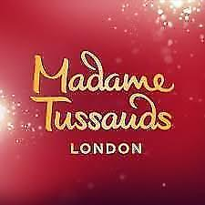 2 x MADAME TUSSAUD TICKETS LONDON - PICK YOUR OWN DATE
