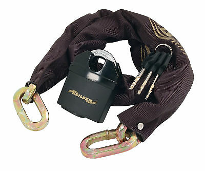 65mm Heavy Duty Padlock - 10mm x 1.8M Chain Locck - Motorbike Quad Bike