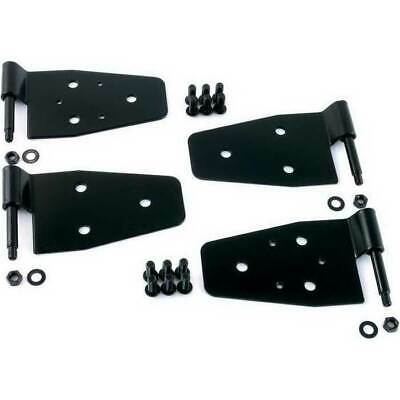 Smittybilt 4 Set Door Hinges Black for Jeep Wrangler YJ/TJ/LJU 1987-2006