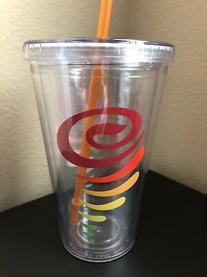 JAMBA JUICE -16ozs small size, clear tumbler $24
