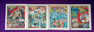 2000AD 1979 - progs 97, 98, 99 & 100 - VG+/close to mint
