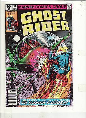 Ghost Rider #45 Vf/nm