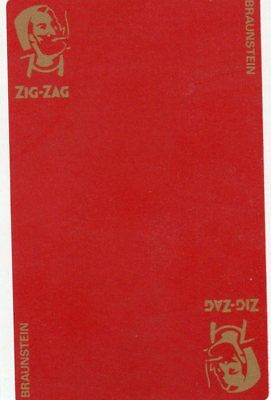 "RARE MINT ""Zig-Zag (Red Card) Cigarette Papers"" SINGLE Playing Card"