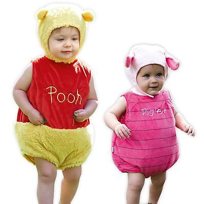 524e86a939a8 Official Disney Winnie the Pooh Bear or Piglet Tabard with Ear Hat Kids  Costume