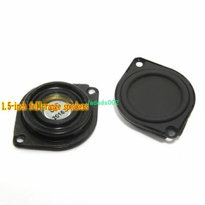 """2pcs 1.5"""" inch Bass diaphragm low-frequency radiator Bass auxiliary For DIY"""
