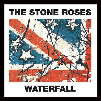 """The Stone Roses - Waterfall - Framed 12"""" Single Cover Print ACPPR48050"""