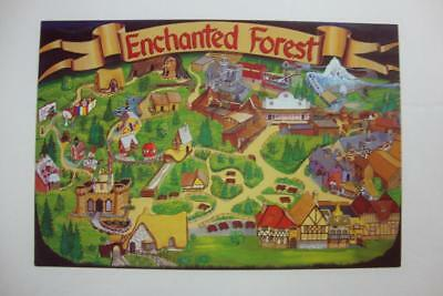 769) Enchanted Forest Painting By Roger Tofte Storybook Lane Roller Coaster More