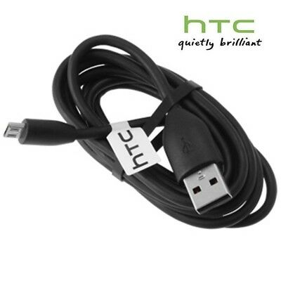 100% Original Official HTC Micro USB Charger Data Cable For One A9 M9 M8 M7 etc.