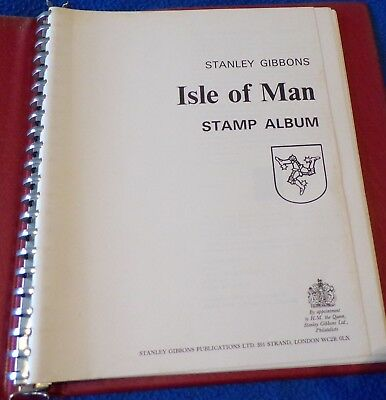 Stanley Gibbons Isle of Man Album with Mint Stamps