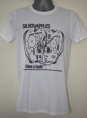 Silver Apples t-shirt faust cluster chrome tuxedomoon