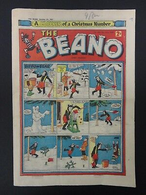 The Beano Comic No. 805 - December 21st 1957, Christmas Number, VG+ Copy