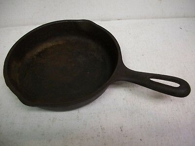 Vintage Cast Iron Wagner Ware #3 Skillet 6 1/2 Inch Skillet Made in USA