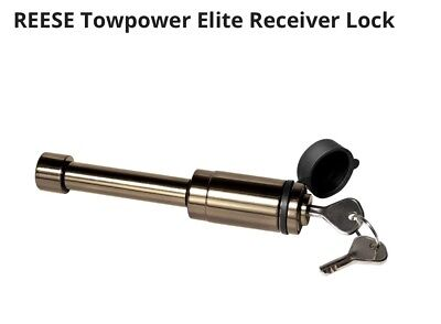 "Reese Towpower 7039030 Sleeved Receiver Lock 1/2 or 5/8"" diameter pin"