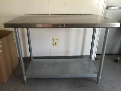 stainless steel work tables.  Great for any kitchen. Various sizes