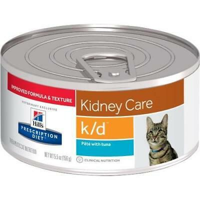 Hills Feline K/D Ocean Fish 156gx24 Cans prescription cat food
