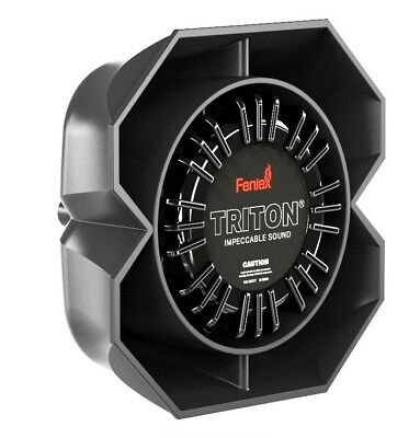"NEW Feniex 100w Triton Siren Speaker w/Included Basic ""L"" Mounting Bracket"