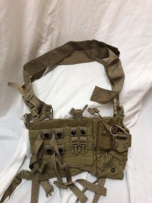 Eagle Industries Low Profile Special Purpose Chest Rig Khaki SEALs Small Buckle