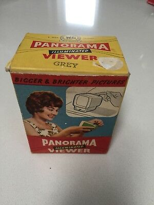 Old Rare Vintage 1950's W&G Panorama 35 mm Camera Boxed Photo Slide Viewer