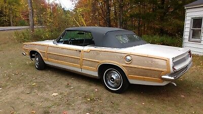 1967 Plymouth Barracuda Convertible Woody 1967  Plymouth Barracuda Convertible