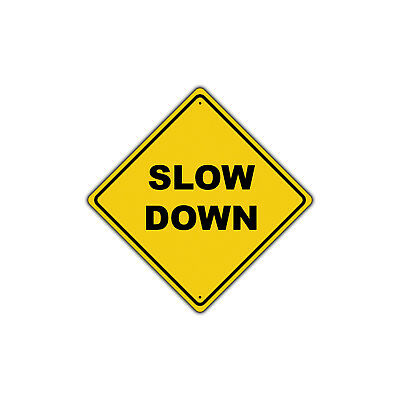 Slow Down Pedestrian Crossing Watch Out Xing Metal Aluminum Road Sign 12x12