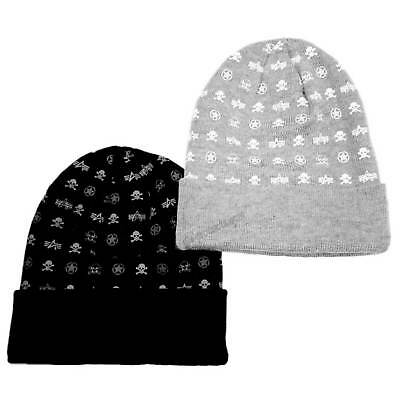 Alpha Industries All Over Loose Beanie  2-layered skin-friendly acrylic knit hat