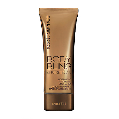 Scott Barnes BODY BLING Original Moisturizing Shimmering Body Lotion - 120ml New