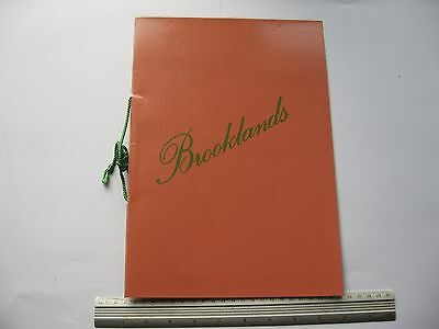 Brooklands Restaurant MENU