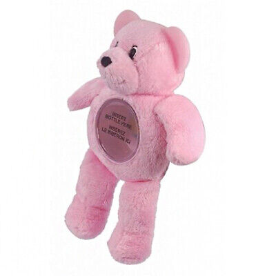 Baby Bottle Buddy Collection - Pink Bear