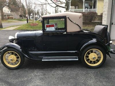1929 Ford Model A SPORT COUPE Ford Model A