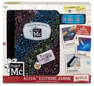 Project Mc2 A.D.I.S.N. Purple Journal - NEW