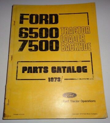 ford 6500 and 7500 tractor loader backhoe tlb service repair rh picclick com Ford Backhoe Parts Ford 750 Backhoe Specs