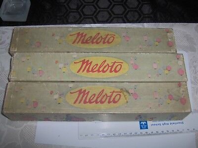 MELOTO Song Roll - Pianola Roll  - 3 rolls see description