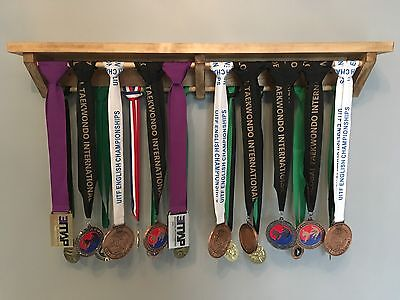 Medal Hanger/ Display Rack/ Holder/ Trophy Shelf/ handmade gift