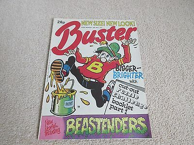 BUSTER COMIC- May 30th 1987-New Size New Look,  very Good condition