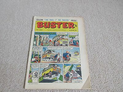 BUSTER COMIC- June 6th 1970, good condition-Beano + 4 page flyer