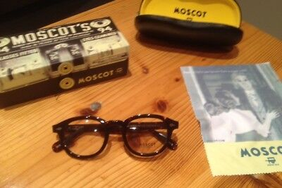 moscot lemtosh tortoise shell glasses 49 large rrp 220 vintage sunglasses