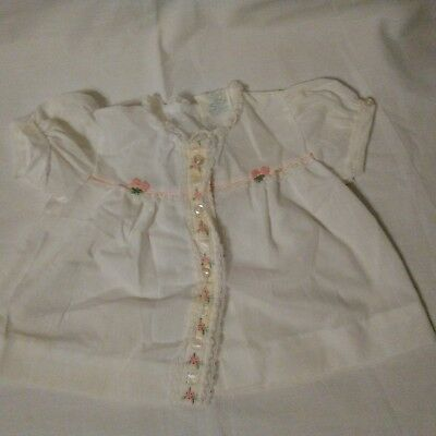Something Pretty vintage Baby Infant Girl Dress Size 0 months embroidered Lace