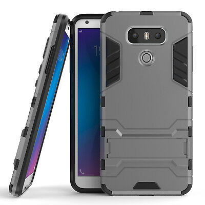 Shockproof Armor Hybrid 2 in 1 Rugged TPU Full Back Cover For LG G6 Phone Case